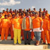 Coast Care Workers with Kouga Municipality,  Mayor and Councillors